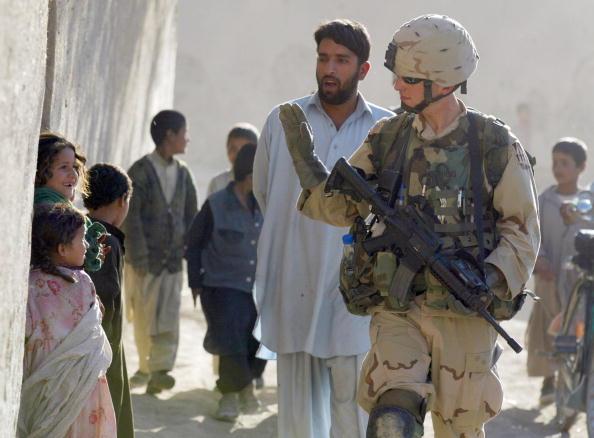 Kabul「U.S. Military Patrols Around Kabul」:写真・画像(4)[壁紙.com]