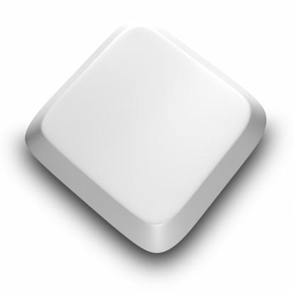Computer Key「Blank Computer keyboard button」:スマホ壁紙(2)
