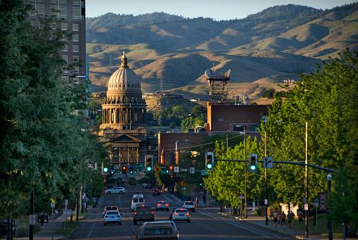 Idaho State Capitol「Capitol building in Boise, Idaho」:スマホ壁紙(13)