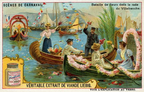絵「Carnival Scenes: Flower battle」:写真・画像(13)[壁紙.com]