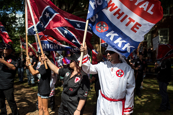 Protest「Ku Klux Klan Protests Planned Removal Of General Lee Statue From VA Park」:写真・画像(17)[壁紙.com]