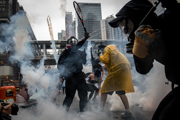 Protestor「Unrest In Hong Kong During Anti-Government Protests」:写真・画像(12)[壁紙.com]