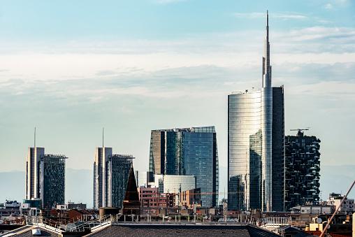 Milan「Italy, Milan, view to modern skyscrapers」:スマホ壁紙(17)