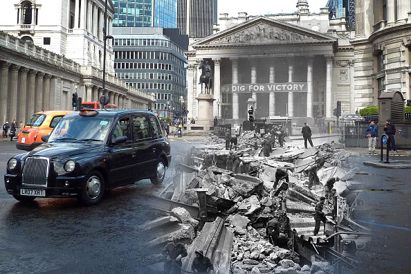 Multiple Exposure「Scenes From The London Blitz - Now and Then」:写真・画像(5)[壁紙.com]