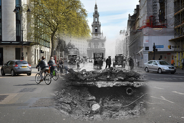 Multiple Exposure「Scenes From The London Blitz - Now and Then」:写真・画像(18)[壁紙.com]