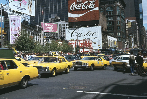 1970-1979「Looking North Towards Times Square, NYC」:写真・画像(0)[壁紙.com]