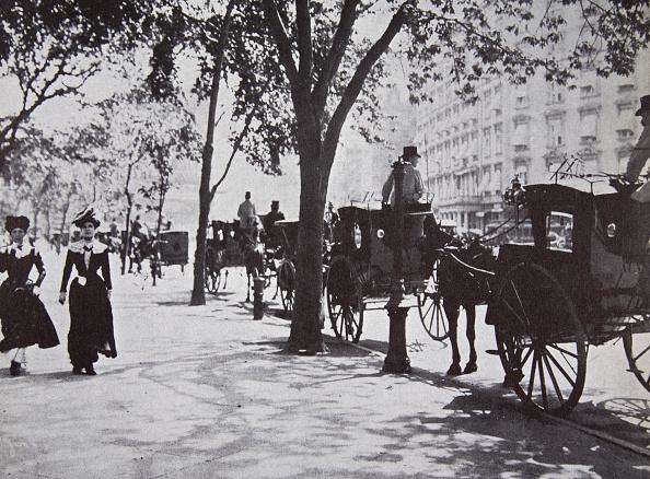 1900-1909「Street Scene New York City USA Early 1900s」:写真・画像(6)[壁紙.com]