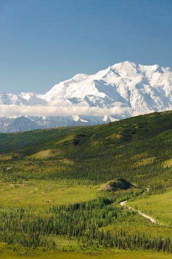 Alaska Range「Mt. McKinley on a clear morning」:スマホ壁紙(14)