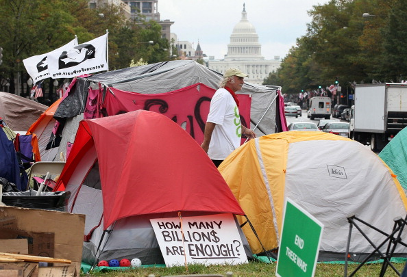 Recreational Pursuit「Occupy DC Protesters Camp In DC's Freedom Plaza」:写真・画像(6)[壁紙.com]