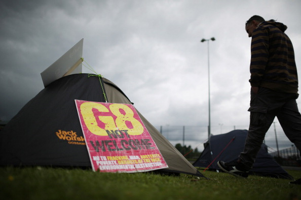 G8「Protests And Preparations For The G8 Summit In Northern Ireland」:写真・画像(8)[壁紙.com]