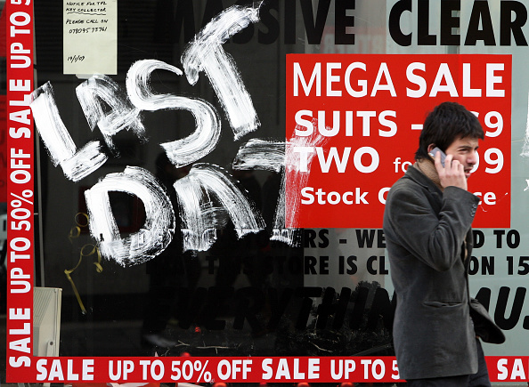 Oxford Street「Government Announces That The UK Is Officially In Recession」:写真・画像(12)[壁紙.com]
