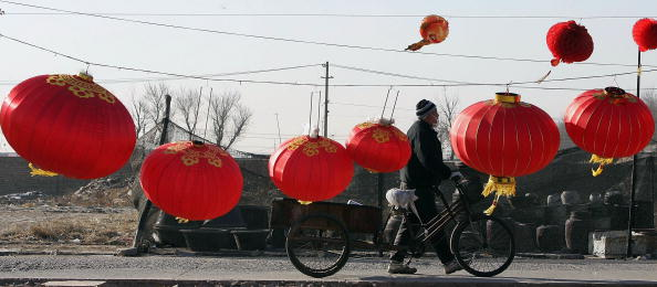 Chinese Lantern「Preparations For New Year Get Under Way At Lantern Market Beijing」:写真・画像(17)[壁紙.com]