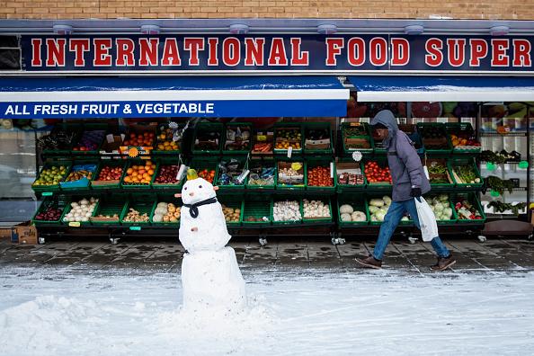 雪だるま「Britain Freezes As Siberian Weather Sweeps Across The Country」:写真・画像(19)[壁紙.com]