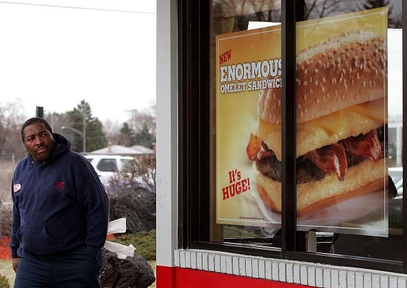 "Unhealthy Eating「Burger King Introduces New ""Enormous"" Sandwich」:写真・画像(14)[壁紙.com]"