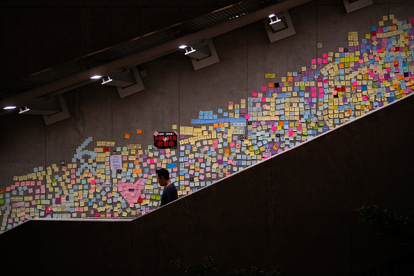 Adhesive Note「Hong Kongers Protest Over China Extradition Law」:写真・画像(19)[壁紙.com]