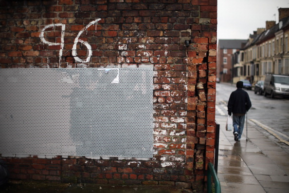 Graffiti「Hillsborough 'Accidental Death' Inquest Verdicts Quashed At High Court」:写真・画像(4)[壁紙.com]