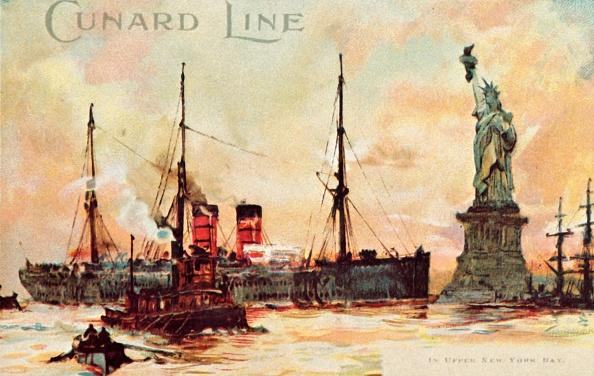 Passenger Craft「Cunard Line - In Upper New York Bay」:写真・画像(14)[壁紙.com]