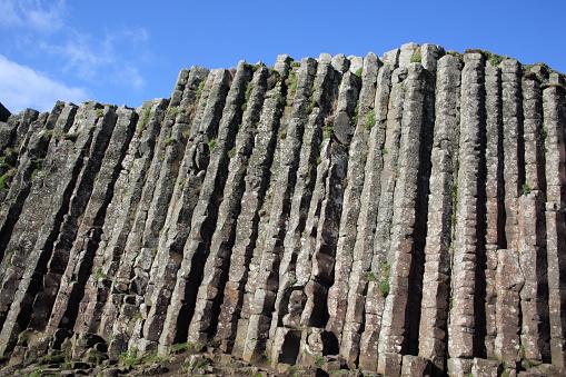 Basalt「High basalt columns of Giant's Causeway. N. Ireland.」:スマホ壁紙(2)