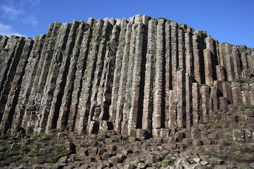Basalt「High basalt columns of Giant's Causeway, N. Ireland.」:スマホ壁紙(2)