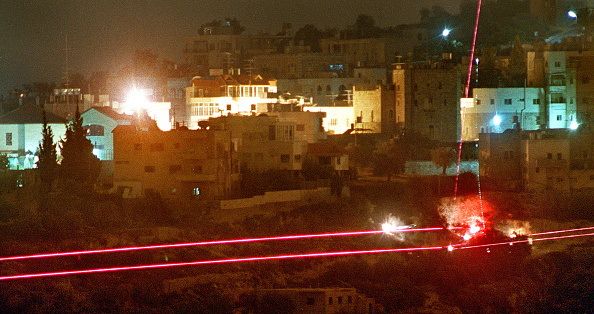 West Bank「Israelis Fire Tracer Rounds at Palestinians」:写真・画像(5)[壁紙.com]