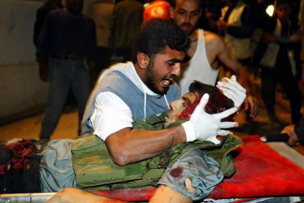 Rafah「Israeli Missiles Strike Rafah Refugee Camp」:写真・画像(14)[壁紙.com]