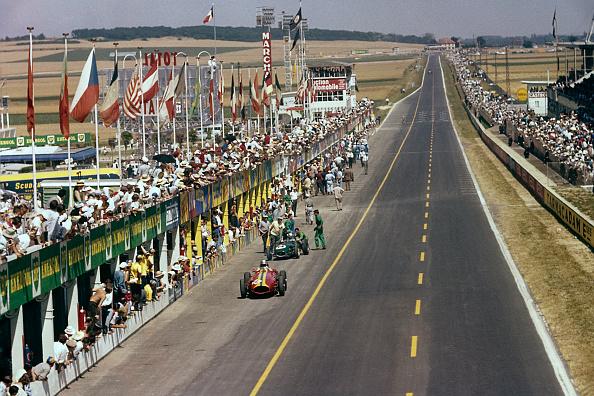フランス「Giorgio Scarlatti, Innes Ireland, Grand Prix Of France」:写真・画像(19)[壁紙.com]