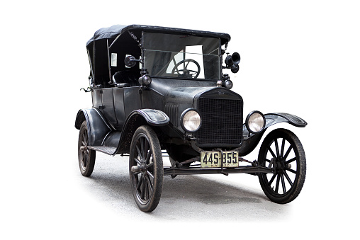1920-1929「Model T 1920 Ford silhouetted」:スマホ壁紙(11)