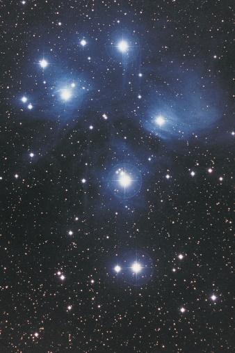 星空「Pleiades in Taurus」:スマホ壁紙(0)