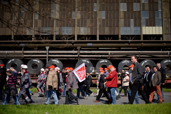 Strategy「Steelworkers Protest European Steel Policies」:写真・画像(3)[壁紙.com]