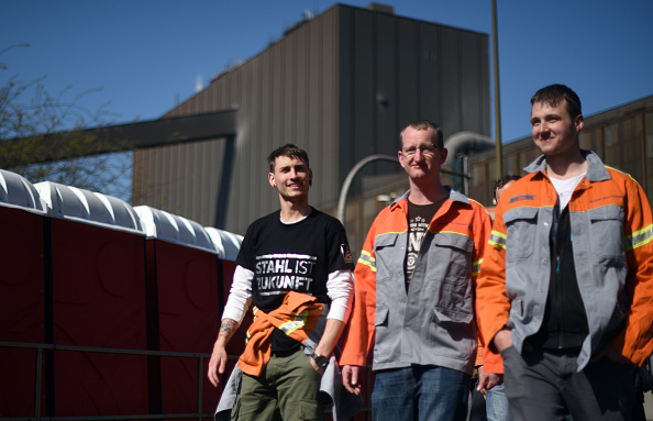 Strategy「Steelworkers Protest European Steel Policies」:写真・画像(2)[壁紙.com]