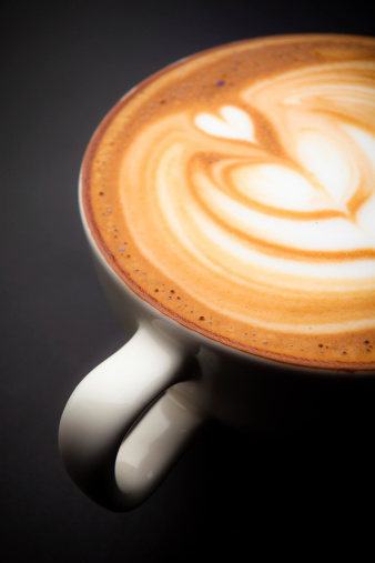 Latte「カフェラテフォームのアート」:スマホ壁紙(18)
