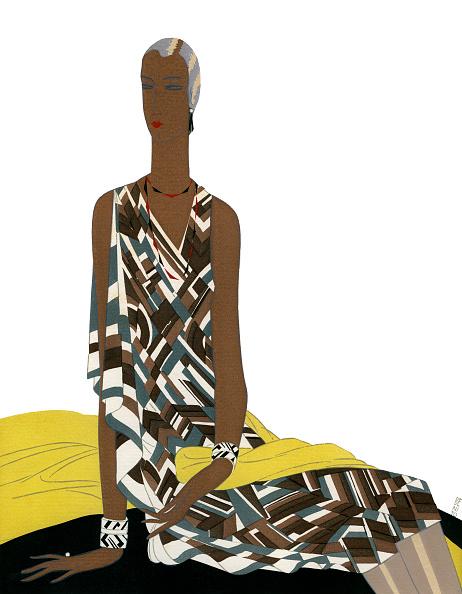 Art Deco「1920s Art Deco Model In Dress」:写真・画像(19)[壁紙.com]