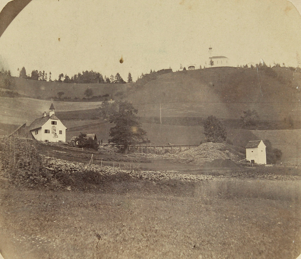 1870-1879「Zeiring. Styria. Kalvarienberg (Hill) With The Church Built By F. J. Neuper . About 1870. Salted Paper. Photograph.」:写真・画像(12)[壁紙.com]