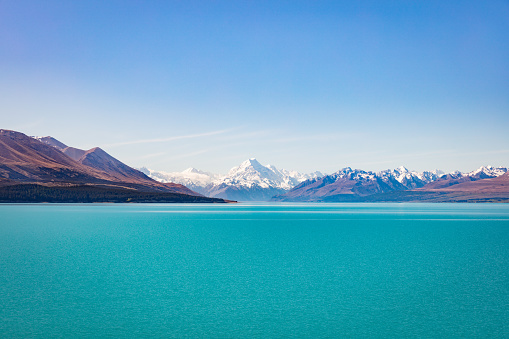 Glacier「Lake Tekapo Aoraki Mount Cook New Zealand」:スマホ壁紙(12)