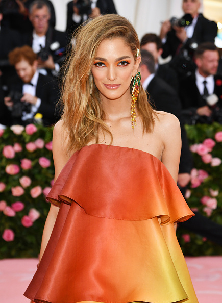 Orange Color「The 2019 Met Gala Celebrating Camp: Notes on Fashion - Arrivals」:写真・画像(5)[壁紙.com]