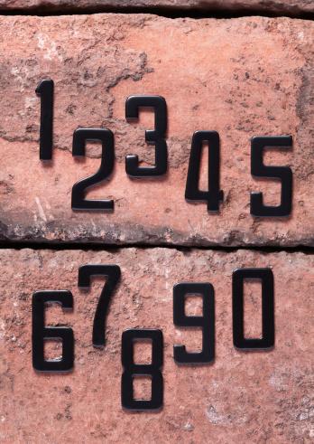Zero「Numbers on bricks」:スマホ壁紙(14)