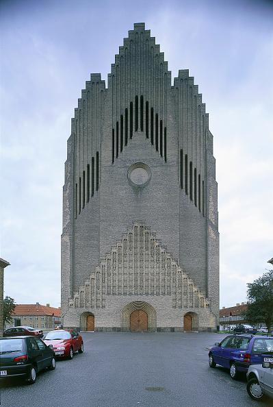 Empty「Exterior of Grundtvig Kirke church.  Copenhagen, Denmark.」:写真・画像(8)[壁紙.com]