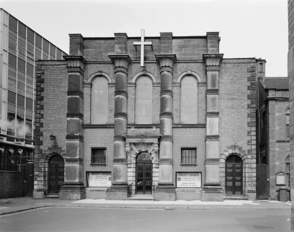 Methodist「Exterior of Trinity Church, George Street, Burton-upon-Trent, Staffordshire, 2000. Artist: M Hesketh-Roberts」:写真・画像(12)[壁紙.com]