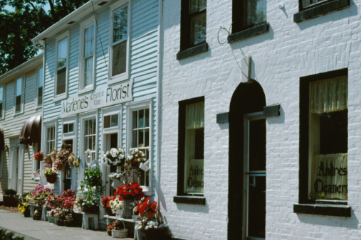 Canada「Exterior of florist shop in Niagara, Canada」:スマホ壁紙(15)