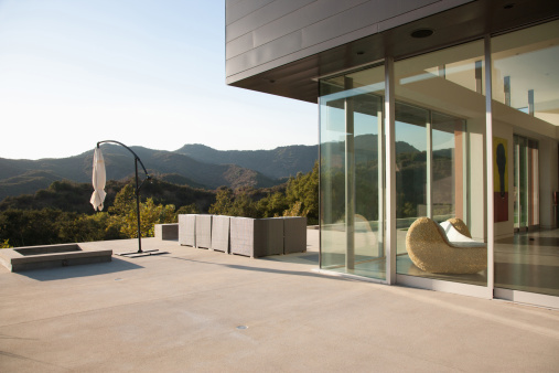 Concrete「Exterior of modern home」:スマホ壁紙(12)