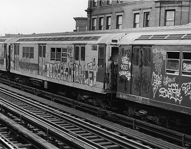 Graffiti On New York Subway Cars:ニュース(壁紙.com)
