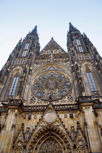 St Vitus's Cathedral「Exterior of Prague Castle, Prague, Czech Republic」:スマホ壁紙(6)