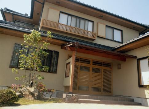 Japan「Exterior of a Japanese House」:スマホ壁紙(6)