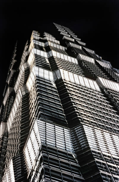 Exterior of Jin Mao Tower, Shanghai, China:ニュース(壁紙.com)