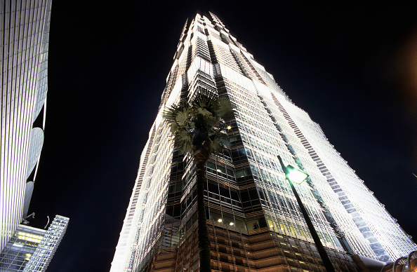 Finance and Economy「Exterior of Jin Mao Tower, Shanghai, China」:写真・画像(3)[壁紙.com]