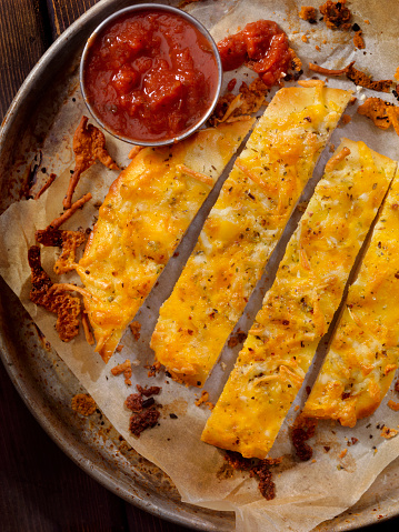 Breadstick「Italian Style Cheese Bread sticks with Marinara Sauce」:スマホ壁紙(11)