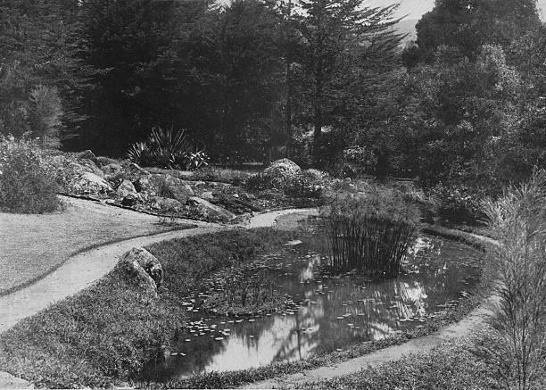 'The Rock Garden, Hakgalla Gardens, Nuwara Eliya', c1890,:ニュース(壁紙.com)