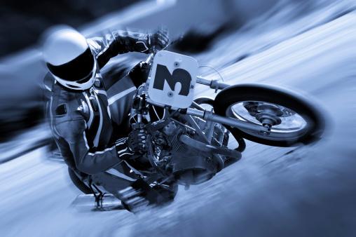 Motor Racing Track「Vintage Cyclist」:スマホ壁紙(5)