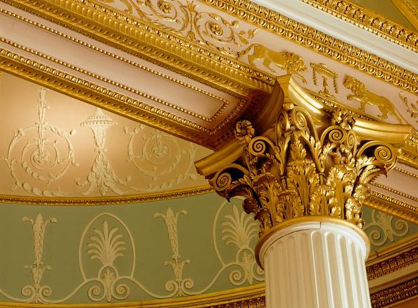 Ceiling「Interior, Kenwood House, Hampstead, London, c2000s(?)」:写真・画像(12)[壁紙.com]