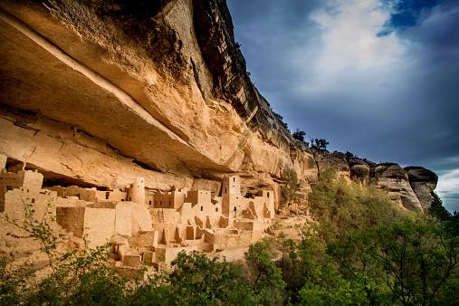 Cliff Dwelling「USA, Colorado, Montezuma, Palace and Mesa Verde National Park」:スマホ壁紙(0)